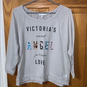 3/$20 Victoria Secret cropped sweatshirt